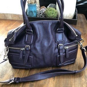 Cole Haan Xl Leather Hobo Bag